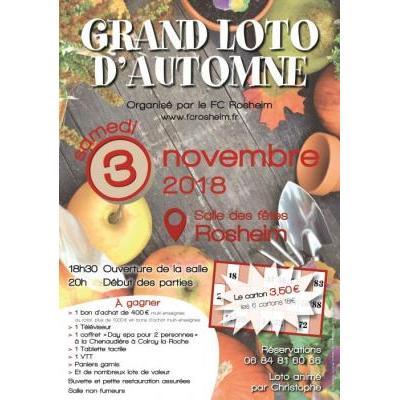 GRAND LOTO D'AUTOMNE