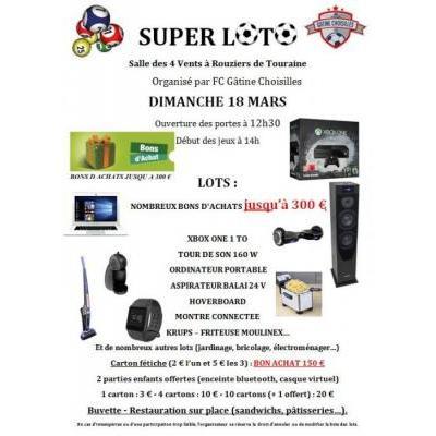 Super Loto Football Club Gâtine Choisilles