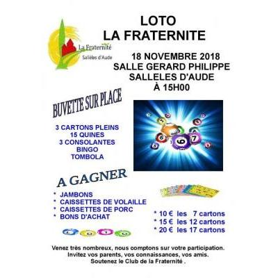 Grand loto de La Fraternité
