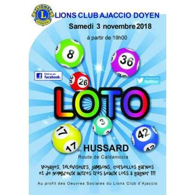 42ème Super Loto Lions Club Ajaccio Doyen
