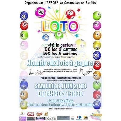 LOTO  - Association Portugaise de Cormeilles en Parisis