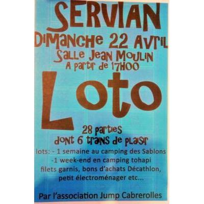 LOTO association JUMP'CABREROLLES