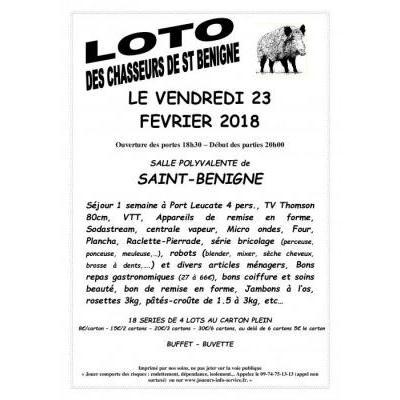 LOTO DES CHASSEURS DE SAINT BENIGNE