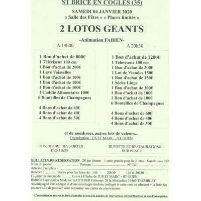2 lotos géants