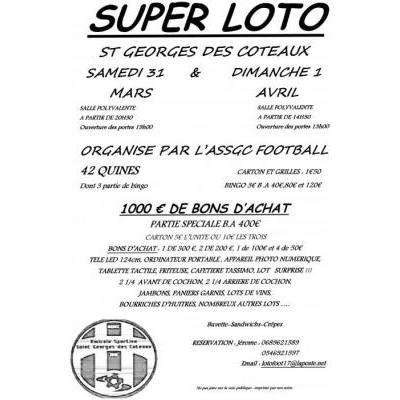 Super loto de l'assgc football