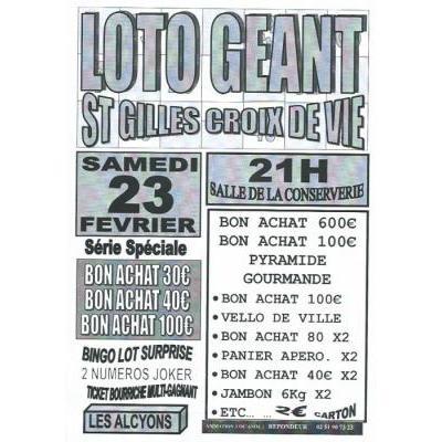 Loto Géant des Alcyons