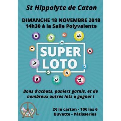 SUPER LOTO - ST HIPPOLYTE DE CATON