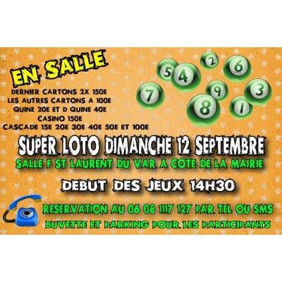 Super Loto bingo exclusivement bon d'achats à gagner
