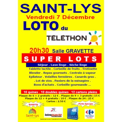 Grand loto du Téléthon