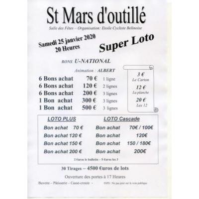super loto de l'Etoile Cycliste Belinoise