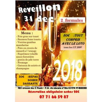LOTO REVEILLON DE LA ST SYLVESTRE