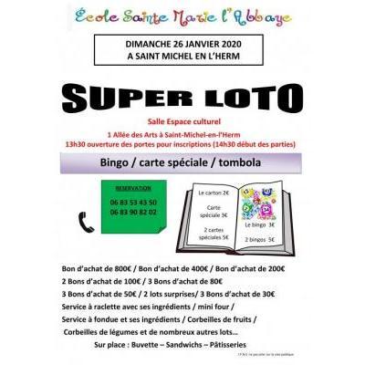 Super Loto animé par Loïc Mandin