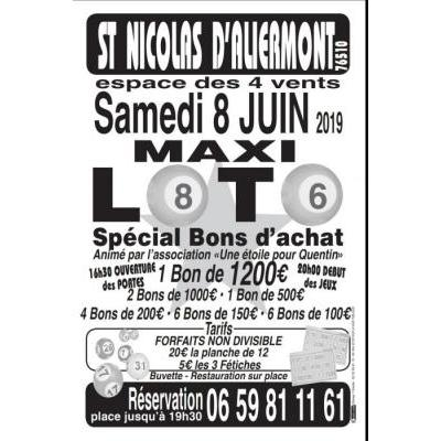 Maxi loto samedi 8 juin