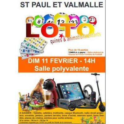 Loto pour l'Ecole St Paulaise