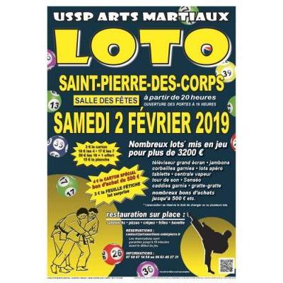 Loto de l'USSP Arts Martiaux (3200€ de lots)