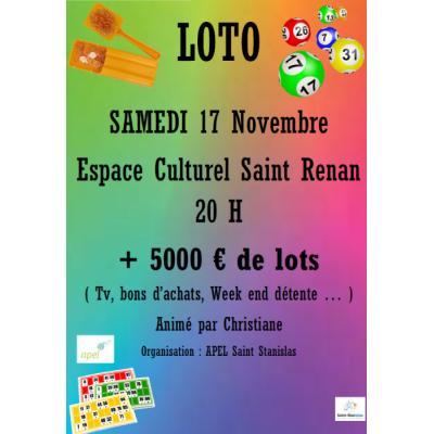 Grand loto du Collège Saint-Stanislas
