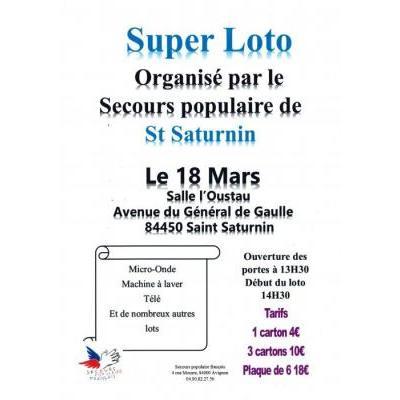 Super loto du Secours populaire !