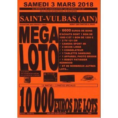 MEGA LOTO 10 000 EUROS DE LOTS