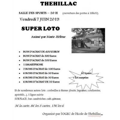 Super Loto animé par Marie Hélène
