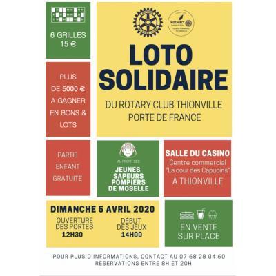 Loto solidaire du Rotary Club Thionville PdF