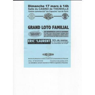 Grand loto familial du Rotary