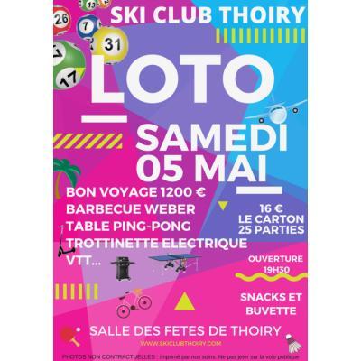 Loto du ski club Thoiry
