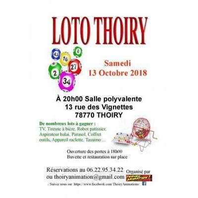 Super loto de Thoiry Animation