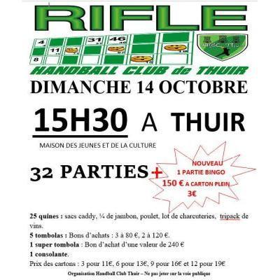 RIFLES DU HANDBALL CLUB THUIR