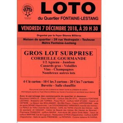 Grand Loto quartier FONTAINE LESTANG -  Toulouse