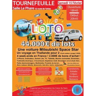 Loto de folie ! 44.000 € de lots : voiture, voyage, iPhone, bons d'achat…