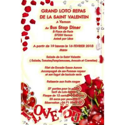 Grand Loto Repas De La Saint Valentin
