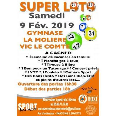 Super Loto Cournon Boxe & Sport Impact