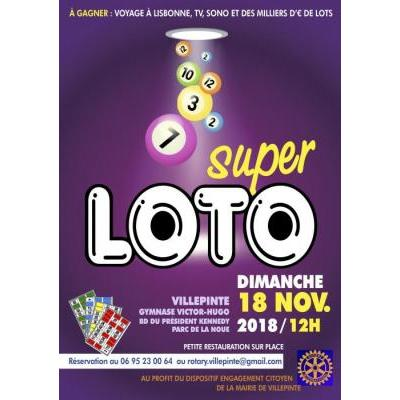 SUPER LOTO   du Rotary Club