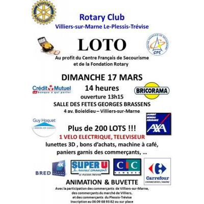 Grand Lot du Rotary Club Villiers Le Plessis