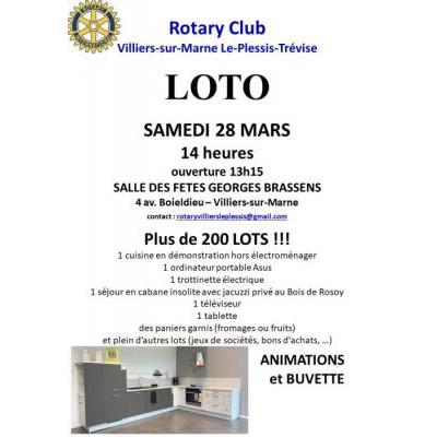 REPORTE - Grand Loto du Rotary Club de Villiers-sur-Marne Le Plessis