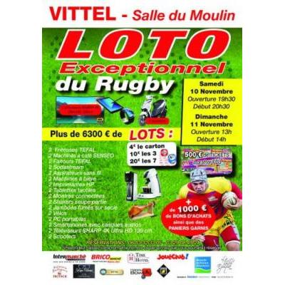Loto exceptionnel du rugby