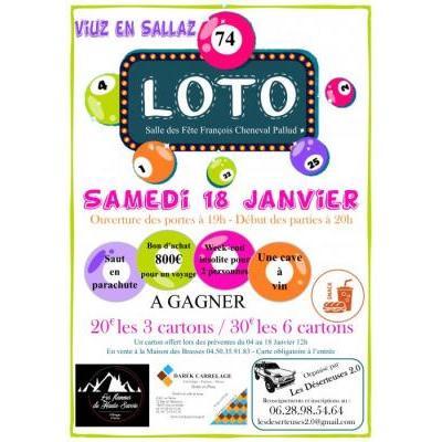 Loto organisé par Les Deserteuses 2.0