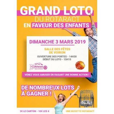 Grand Loto du Rotaract en faveur des enfants