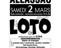 LOTO du CSA (Club Sportif Allassacois)