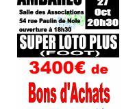 SUPER LOTO PLUS AMBARES FOOT (Bons d'Achats)