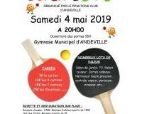 Loto du Ping Pong Club d'Andeville