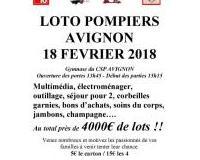 Super LOTO Pompiers Avignon