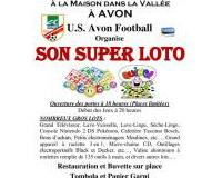 U.S. Avon Football : SUPER LOTO 31 Mars 2018