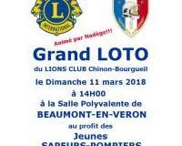Super Loto du LIONS CLUB Chinon-Bourgueil