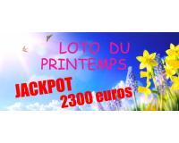 Super Loto Quine Mercredi 20 Mars à 20H45 Bergerac JACKPOT 2300 euros