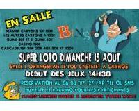 Super Loto bingo exclusivement bon d'achats à gagner à Carros
