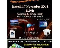 Loto Sapeurs-Pompiers Bourg-Achard