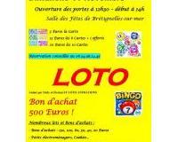 Loto organisé par l'Association des Parents d'Elèves de l'Ecole Publique