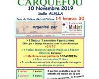 """SUPER LOTO organisé par l'association """"Matéri Pays de Loire"""""""