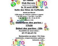 LOTO du Tennis Club Dervois